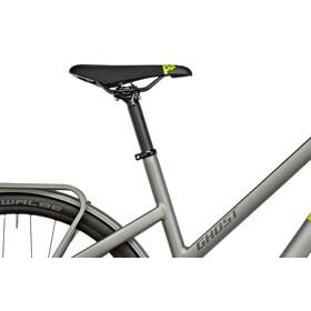Ghost Square Urban 4 Miss - Vélo de ville Femme - jaune/gris